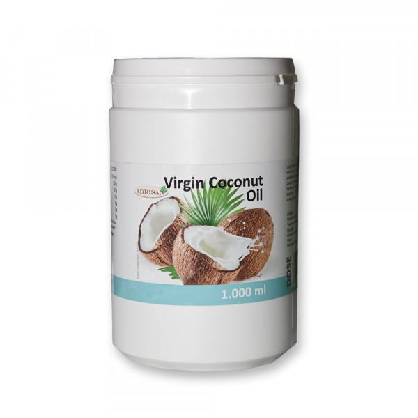 VCO Kokosöl 1 Liter Dose