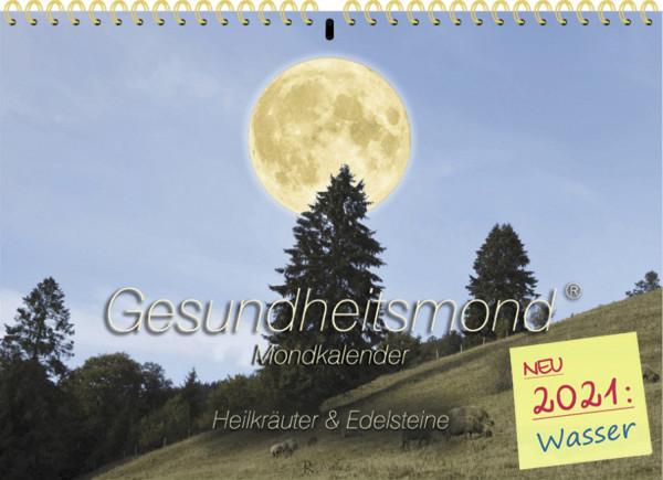 ROMANUS Gesundheitsmond®-Wandkalender 2021, Goldene Edition, A4