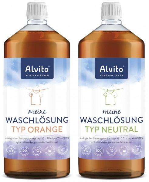 Alvito® WaschLösung Typ Orange und Typ Neutral
